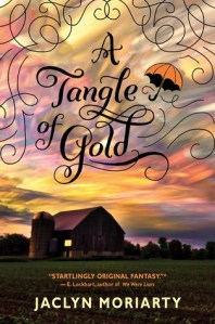 a tangled of gold